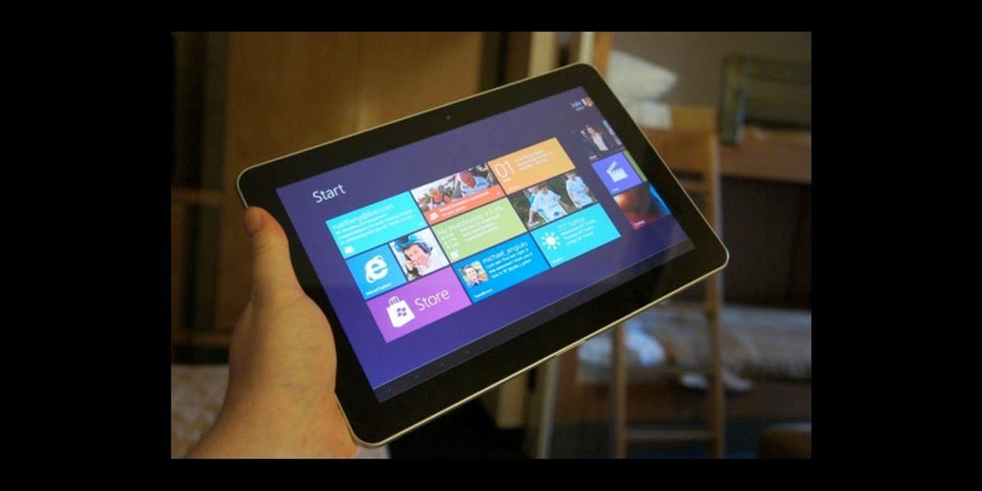 Windows 8-nettbrett i år