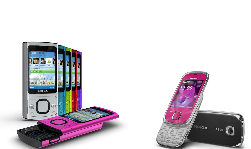 To designtelefoner fra Nokia