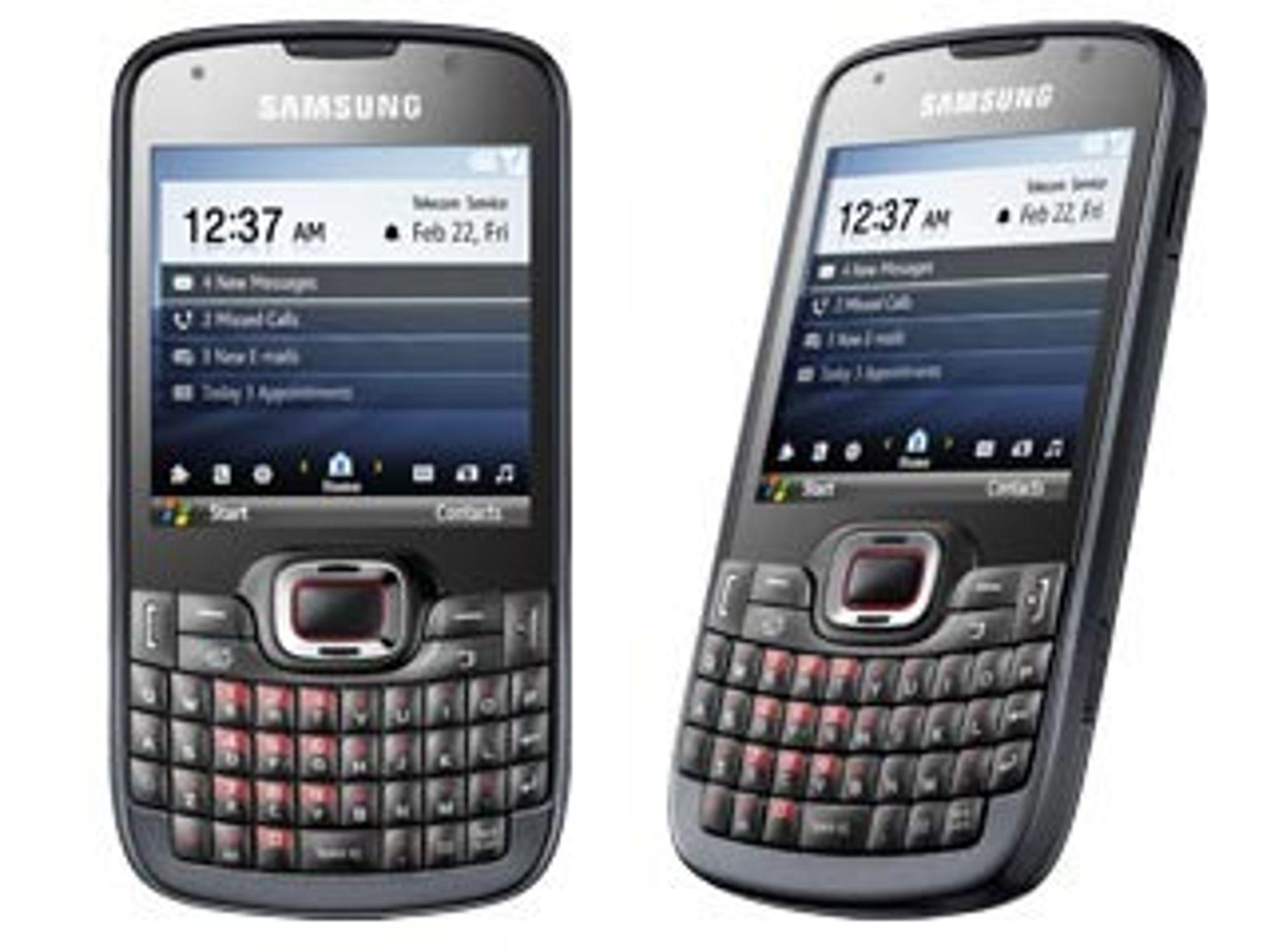 Samsung Omnia Pro B7330