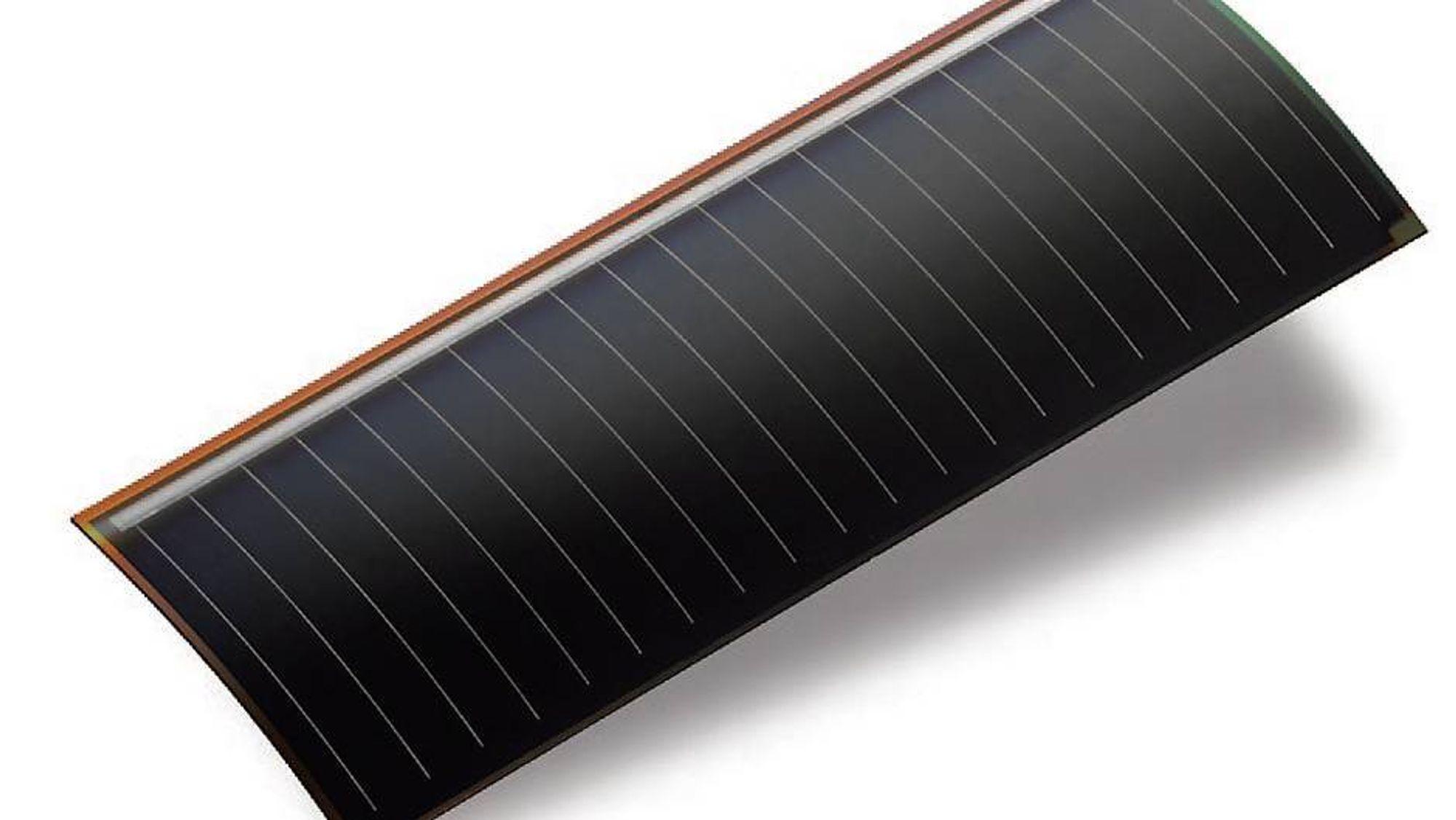 Ny solcelle kan forlenge batteritiden