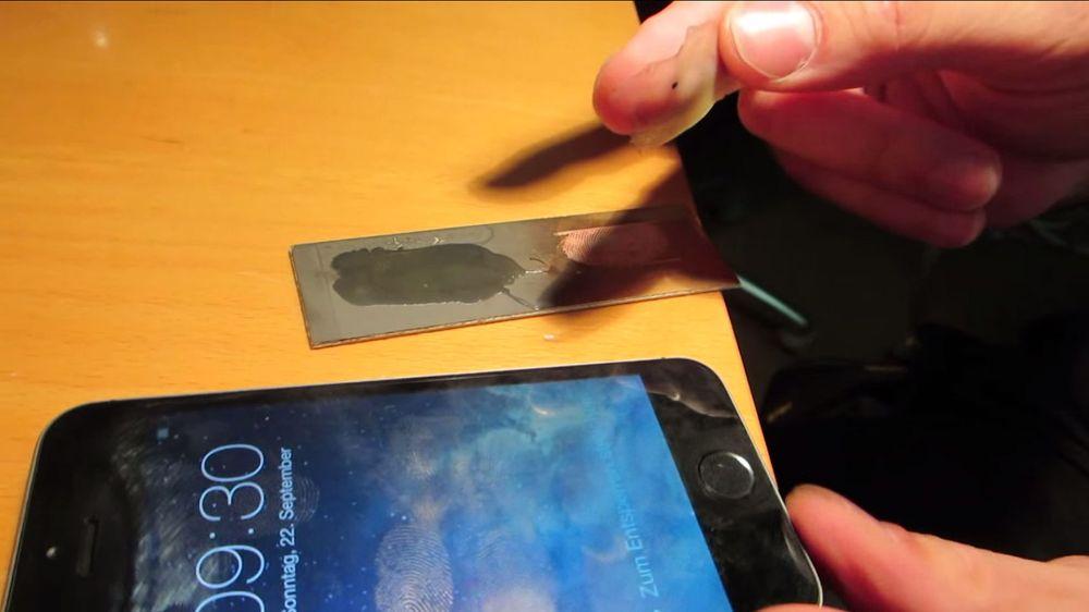 Hevder å ha lurt iPhones fingeravtrykkleser