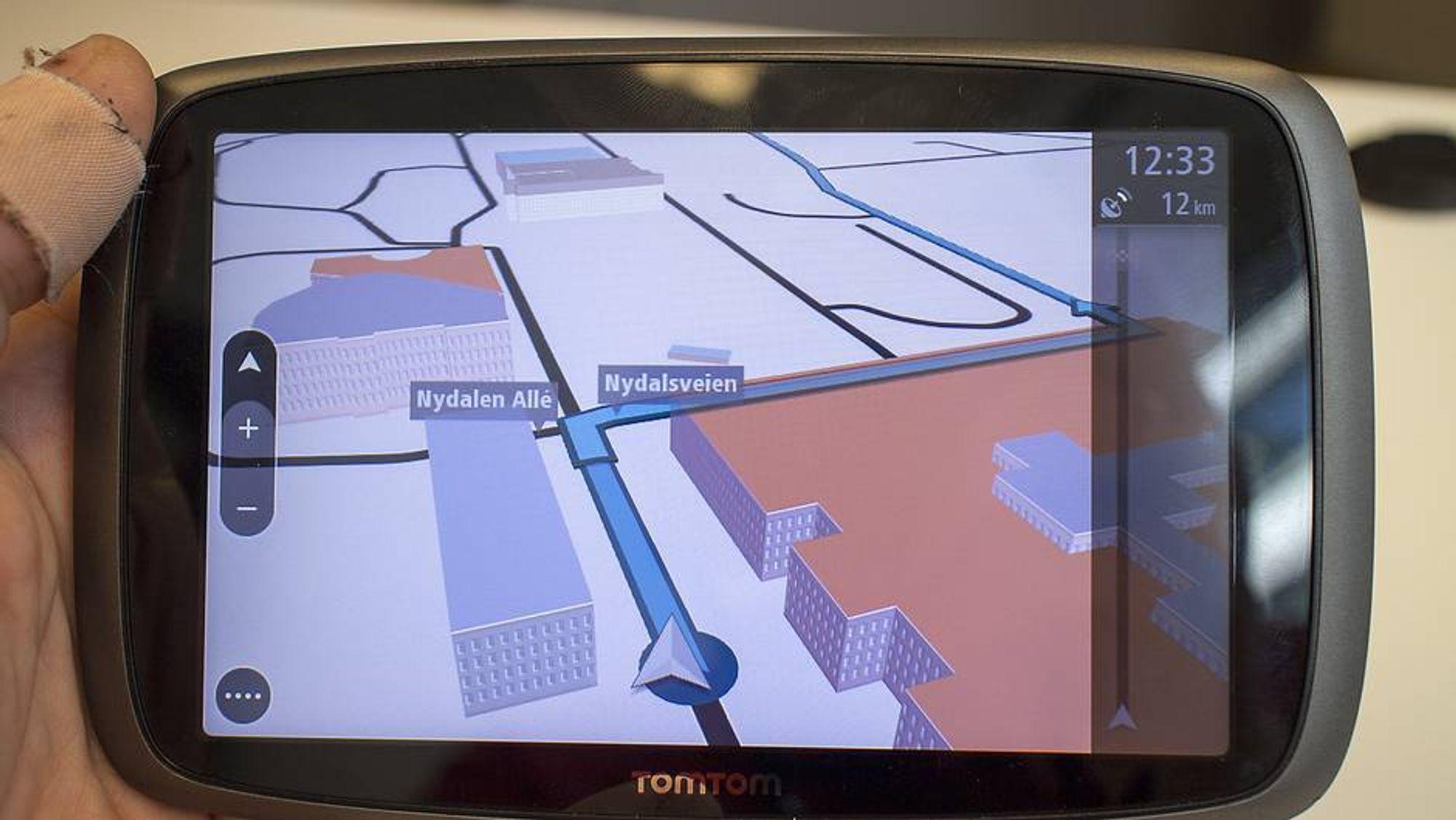Bil-GPS-en blir smartere