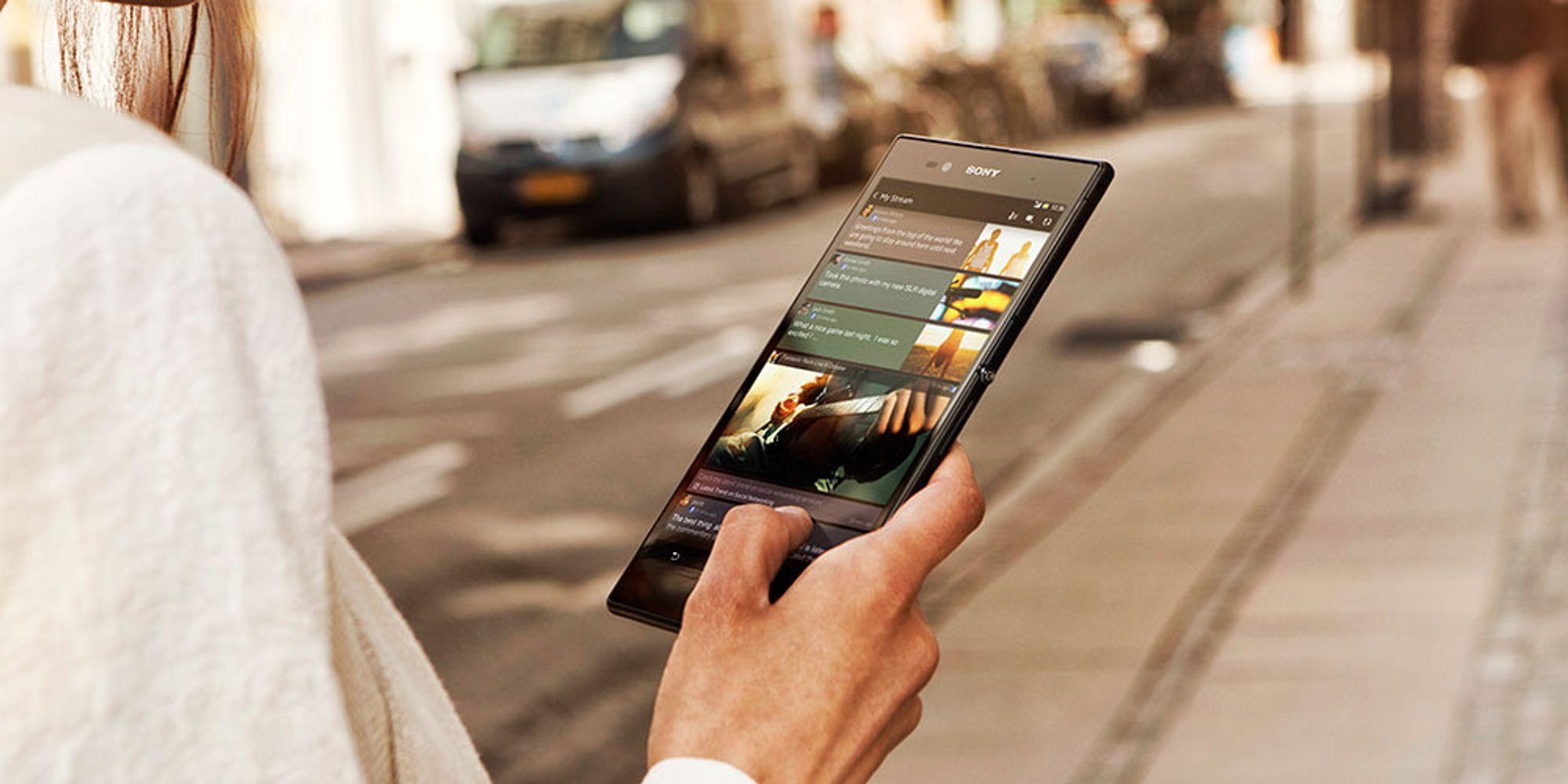 TEST: Sony lanserer monstertelefon