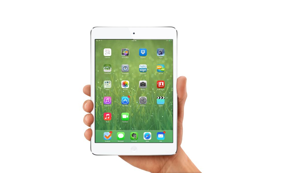 iOS 7 klar for iPad