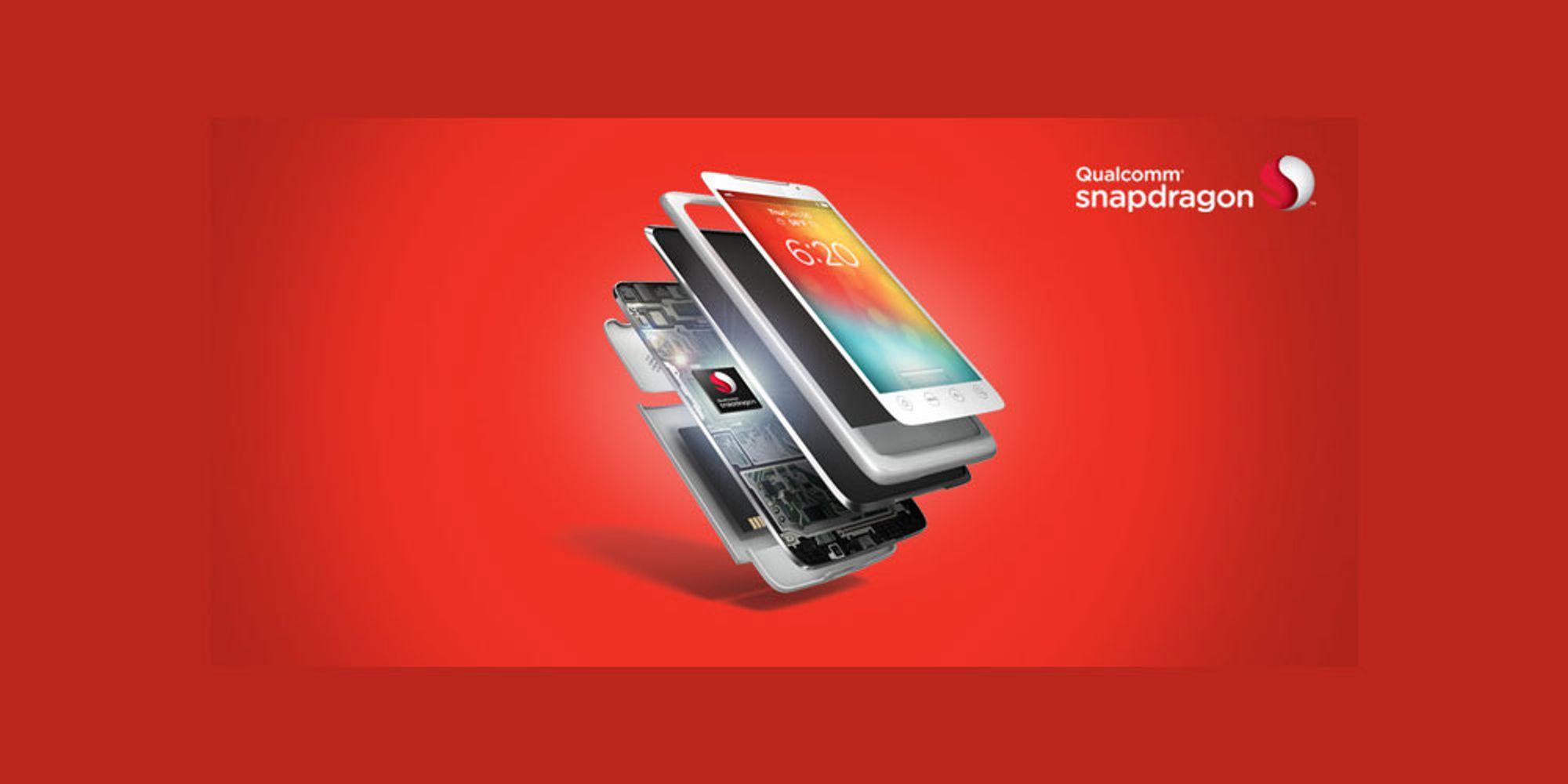 Qualcomm lanserer 6 nye Snapdragon-brikker