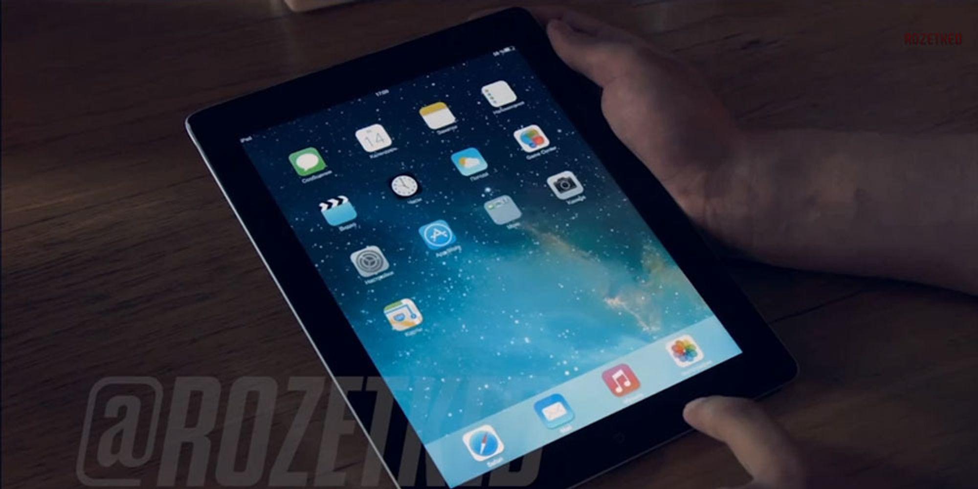 Slik ser iOS 7 for iPad ut