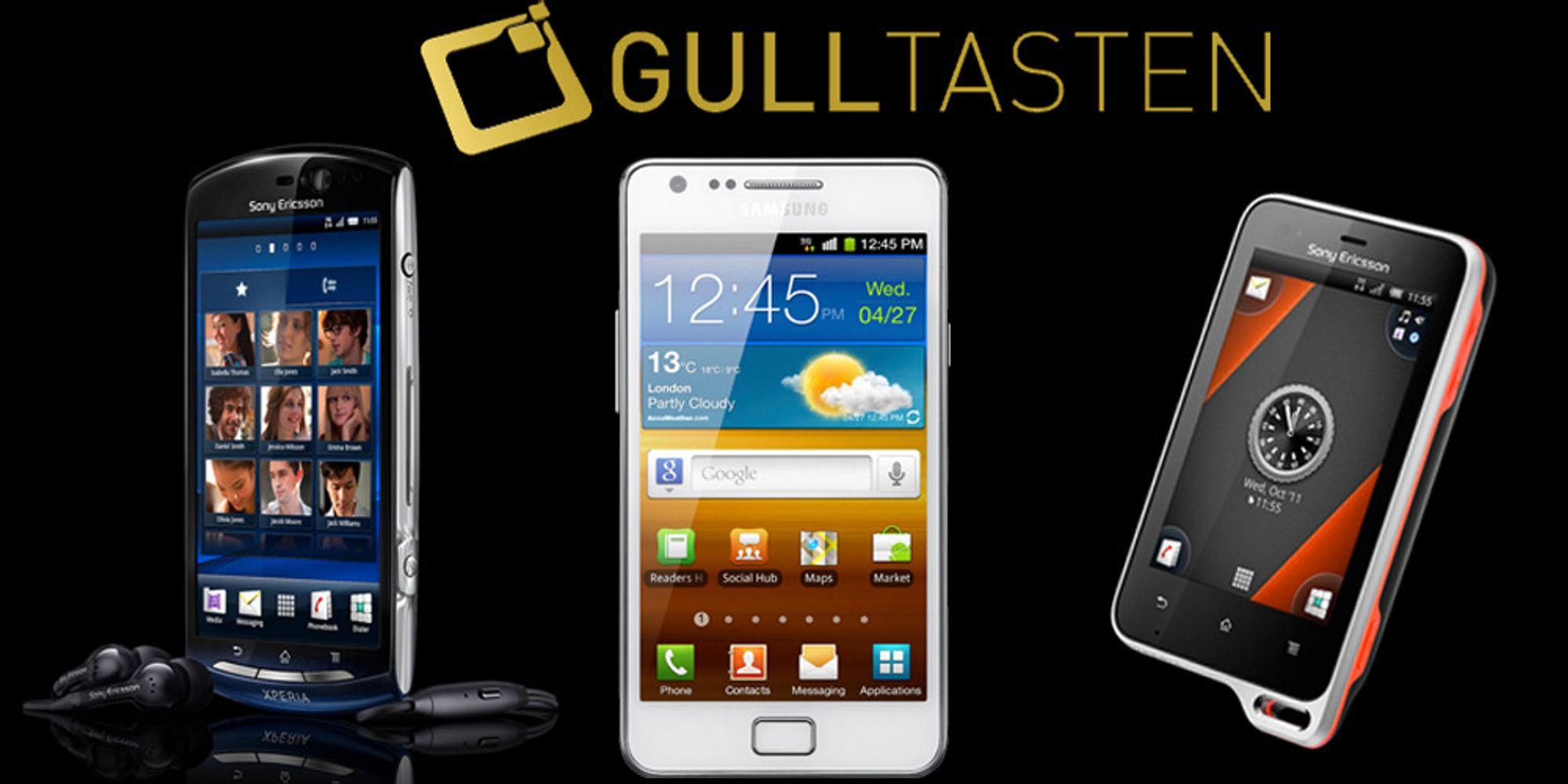SE og Samsung dominerte Gulltasten