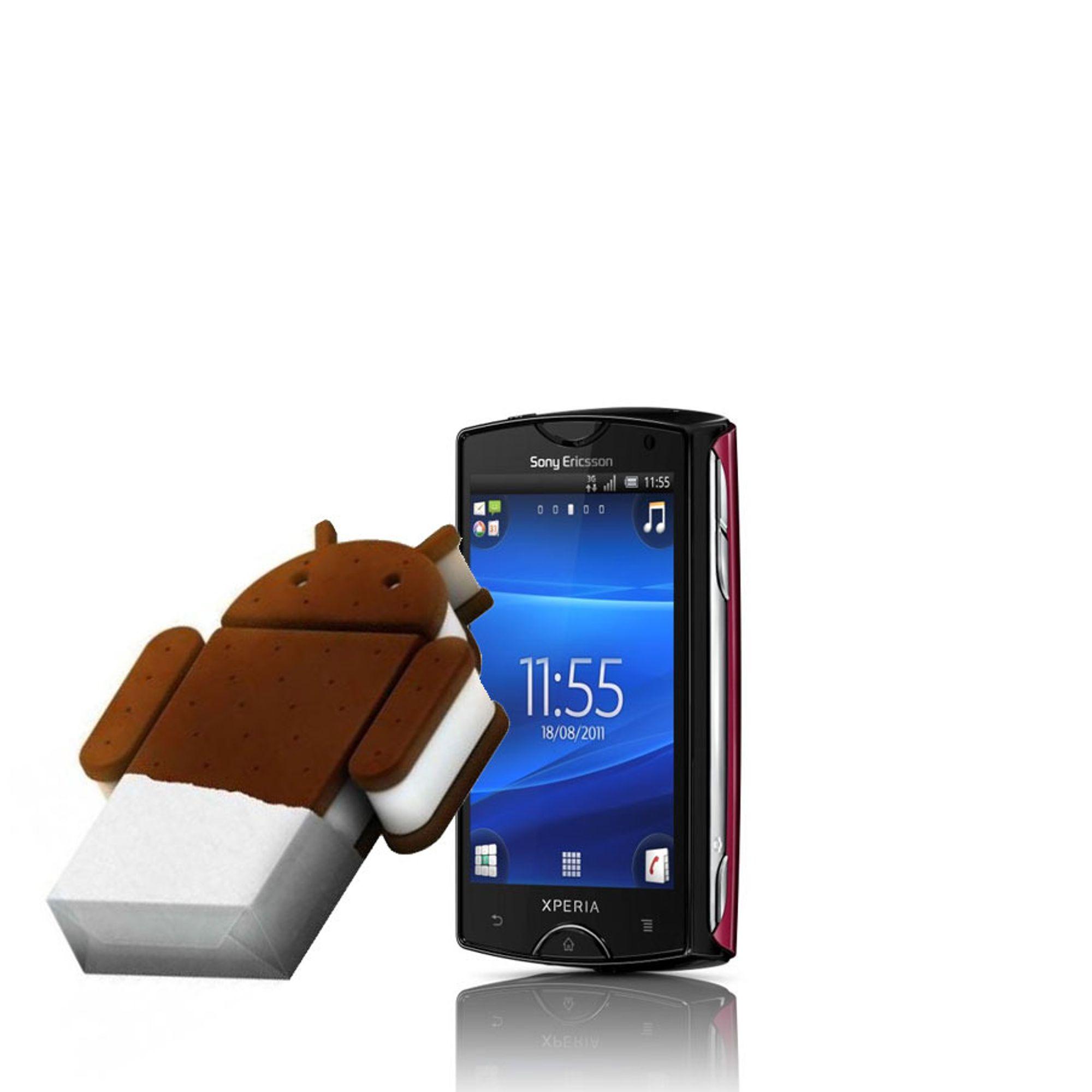 Disse fra Sony Ericsson får Android 4.0