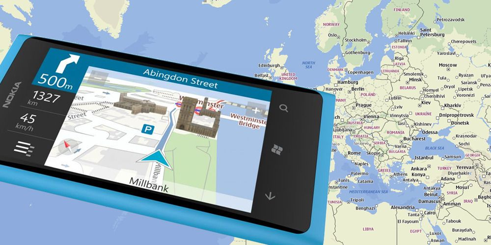 Alle Windows-telefoner får Nokia Maps