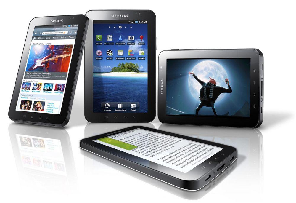 Samsung slipper kildekoden til Galaxy Tab