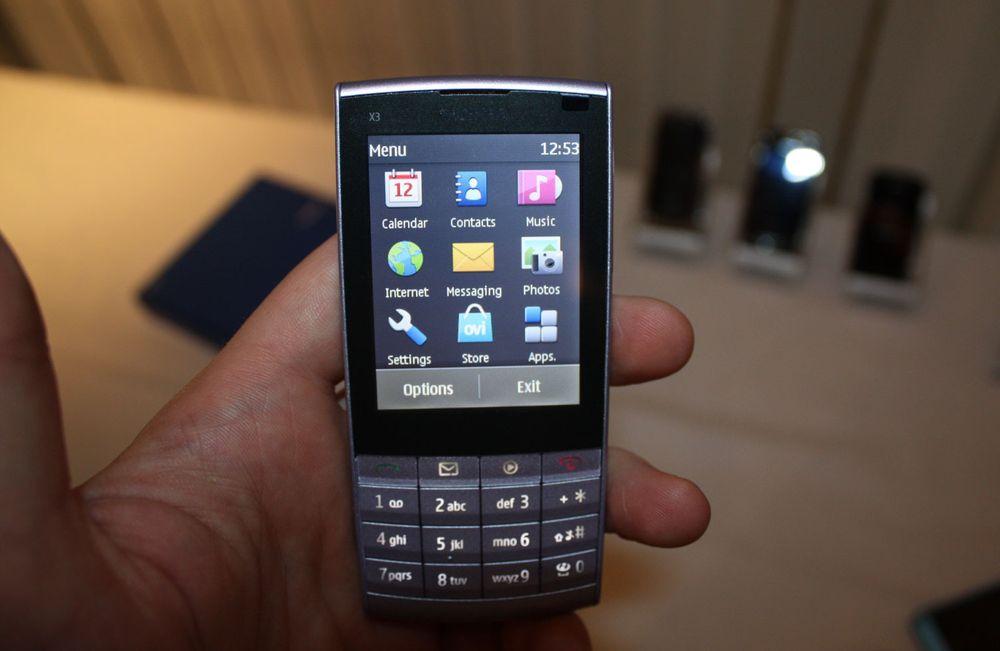 Unboxing av Nokia X3-02