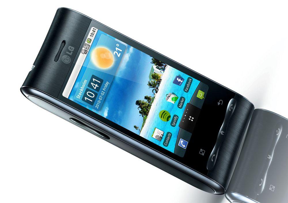 LG GT540 kan oppgraderes til Android 2.1