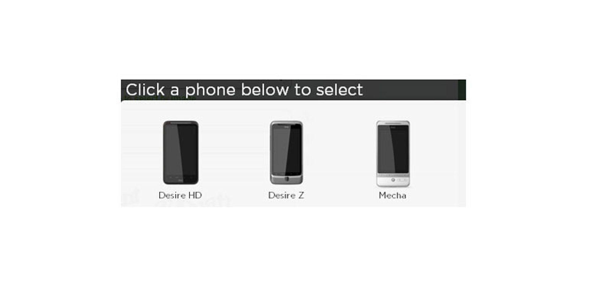 HTC skal lansere HTC Mecha