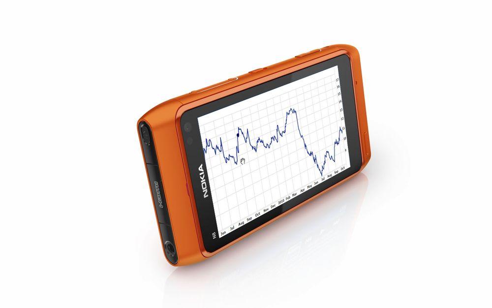 Nokia tjener penger, har mindre markedsandel