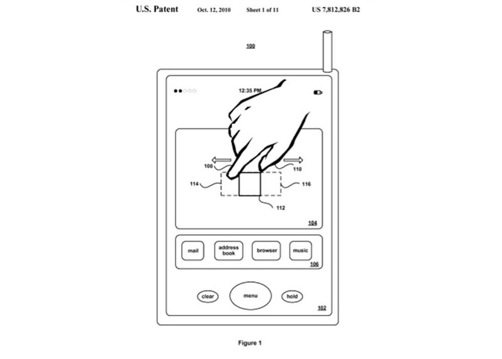 Apple får multitouch-patent