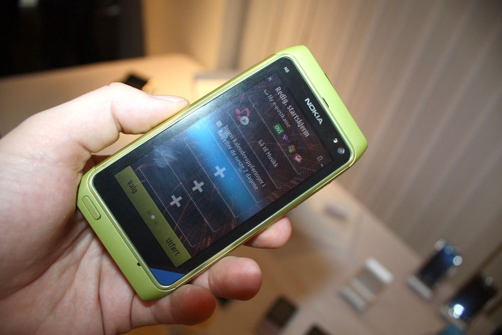 Nokia N8 er på vei