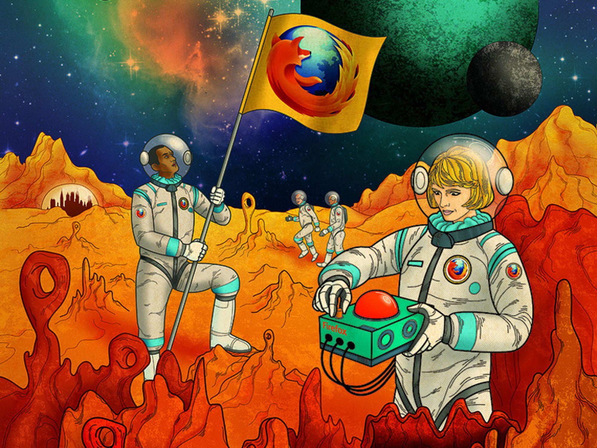 Android-Firefox er kun uker unna