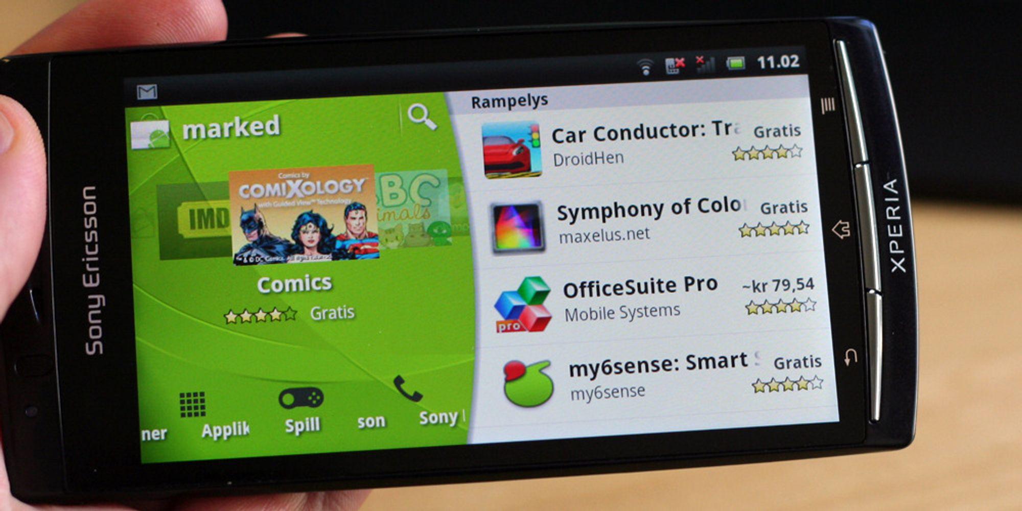 Sett opp Android-telefonen din mot Google