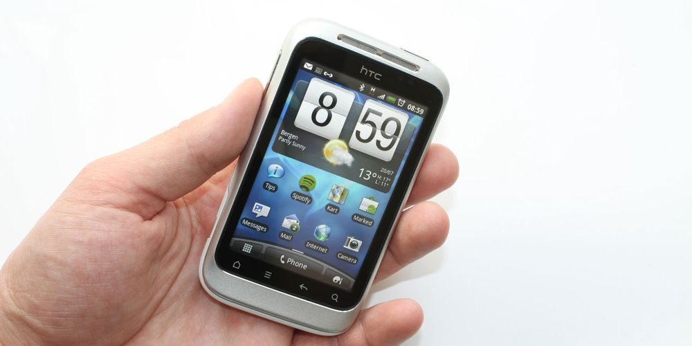 Test av HTC Wildfire S