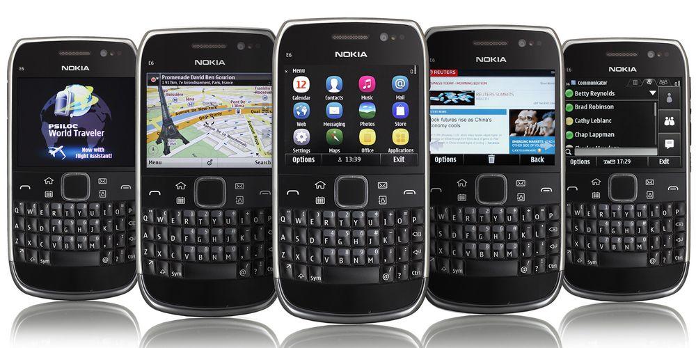 Test av Nokia E6