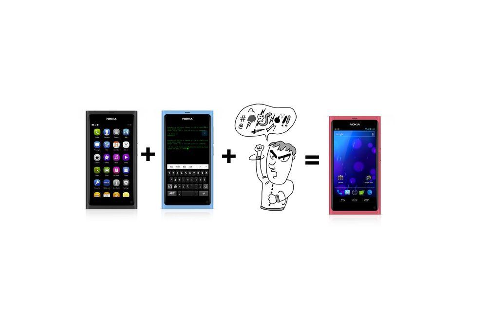 Vi har installert Android på Nokia N9
