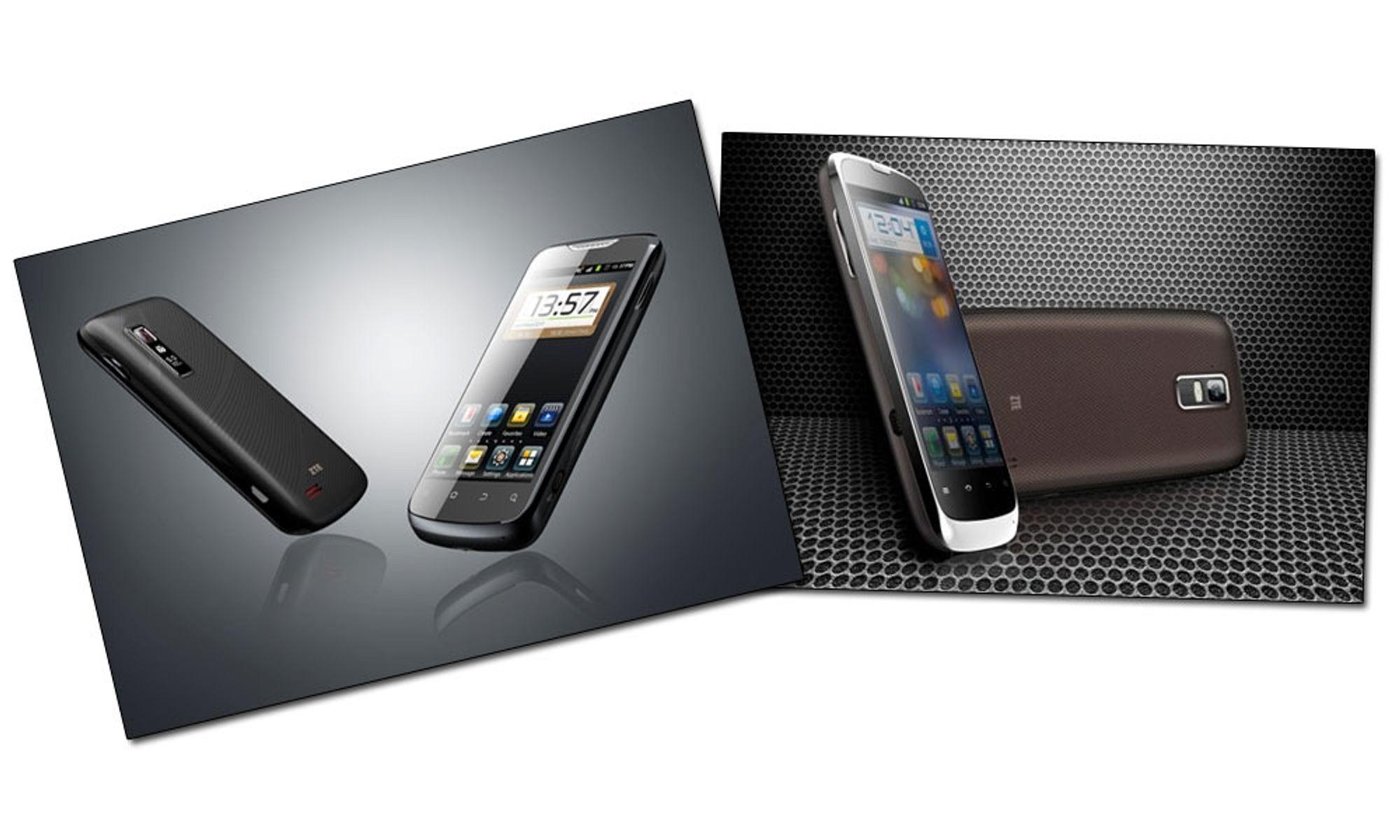 ZTEs to nye kjører Android 4.0