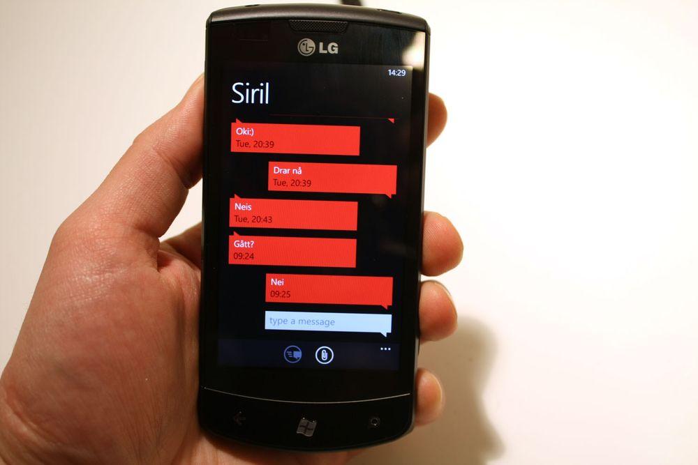Dør SMS-en?