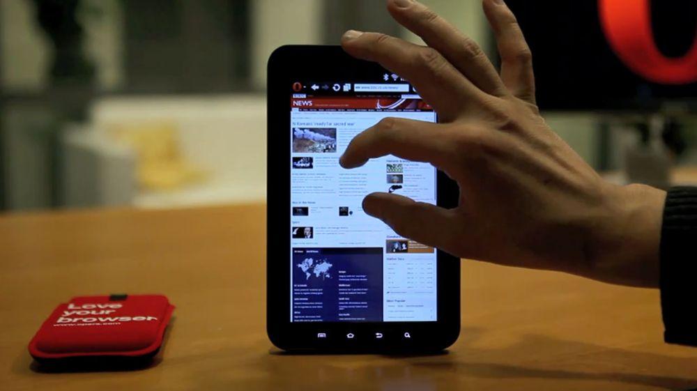 Se Operas tablet-nettleser