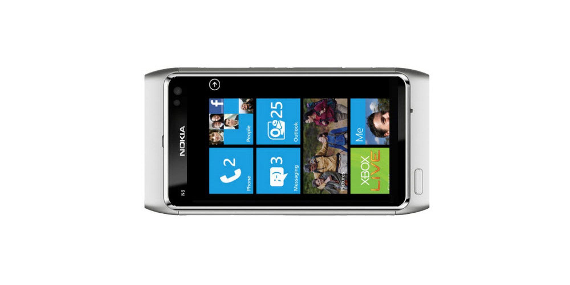 Nokia-telefoner med Windows Phone 7 på vei?