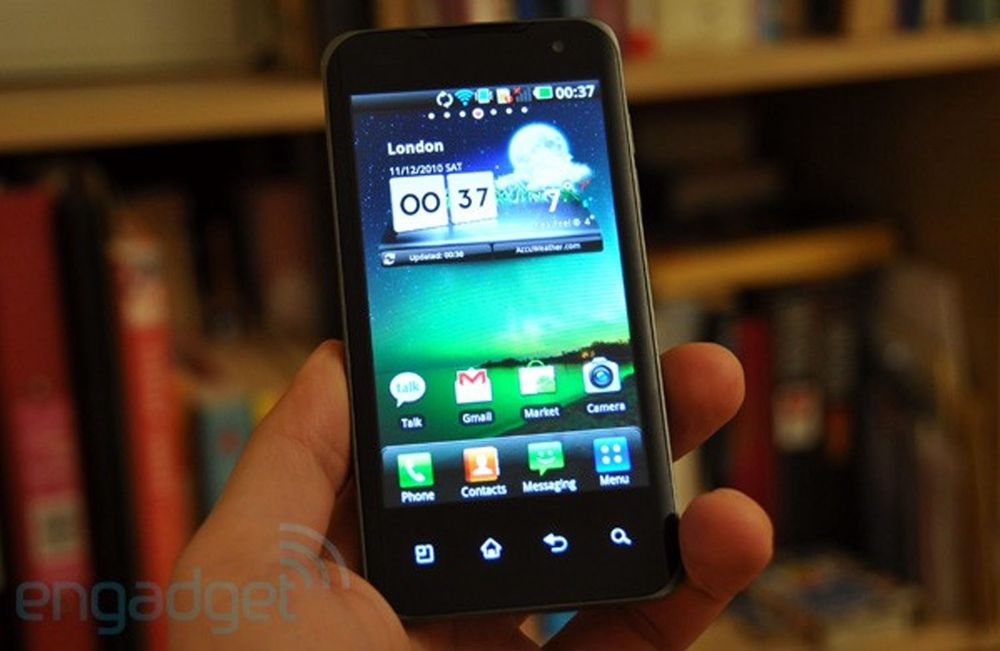 LGs Android-kinaputt testet
