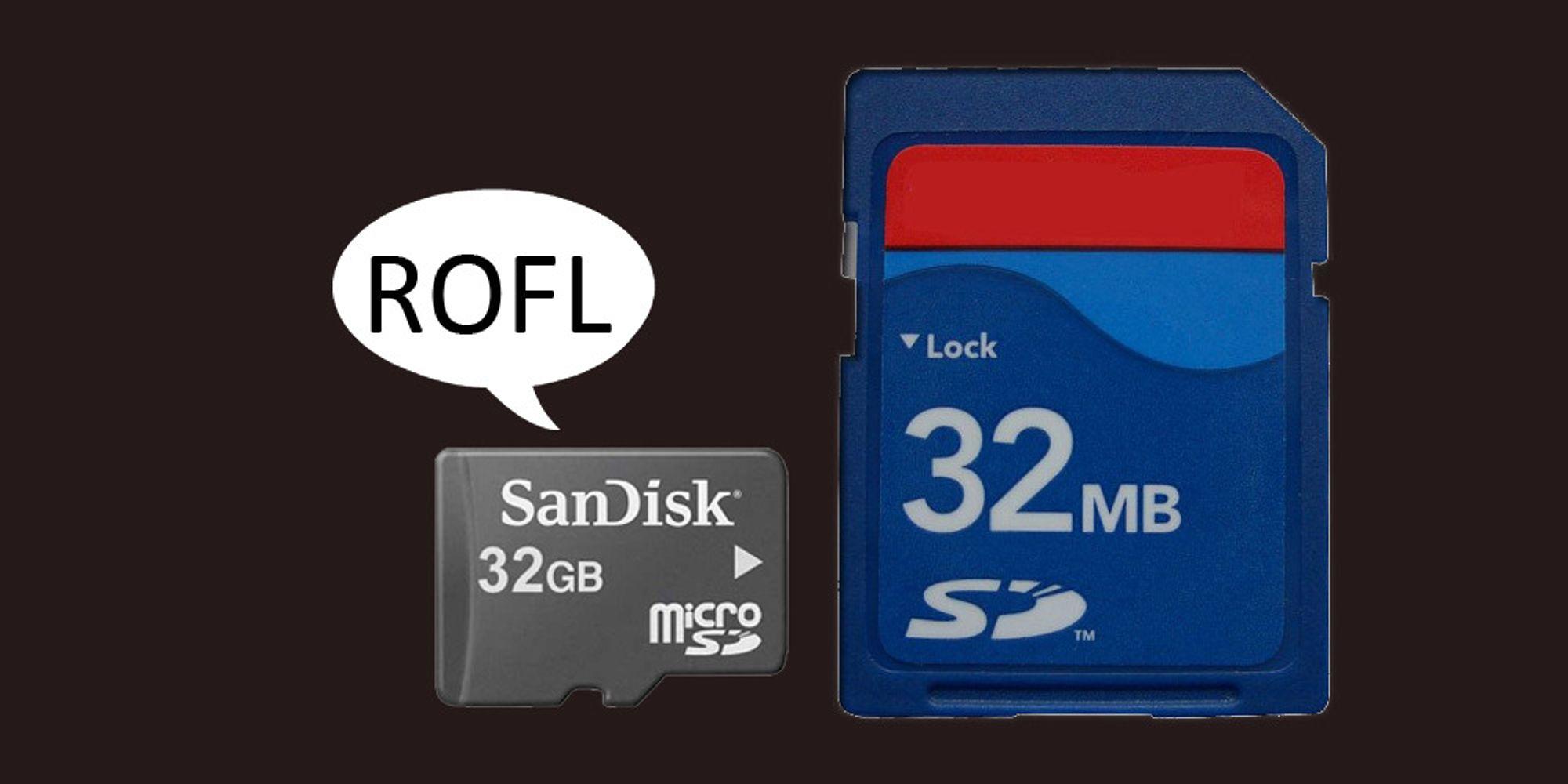 Husker du da 32 MB var mye minne?