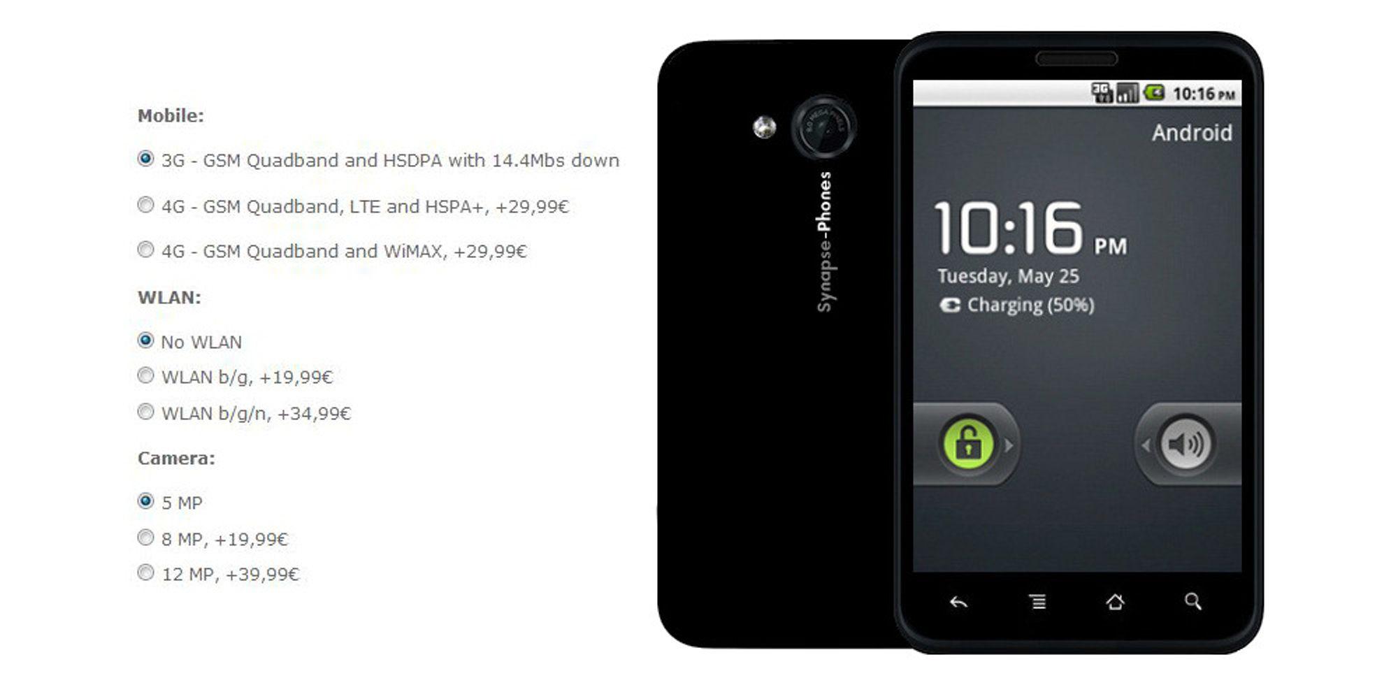 Bygg din egen Android-telefon
