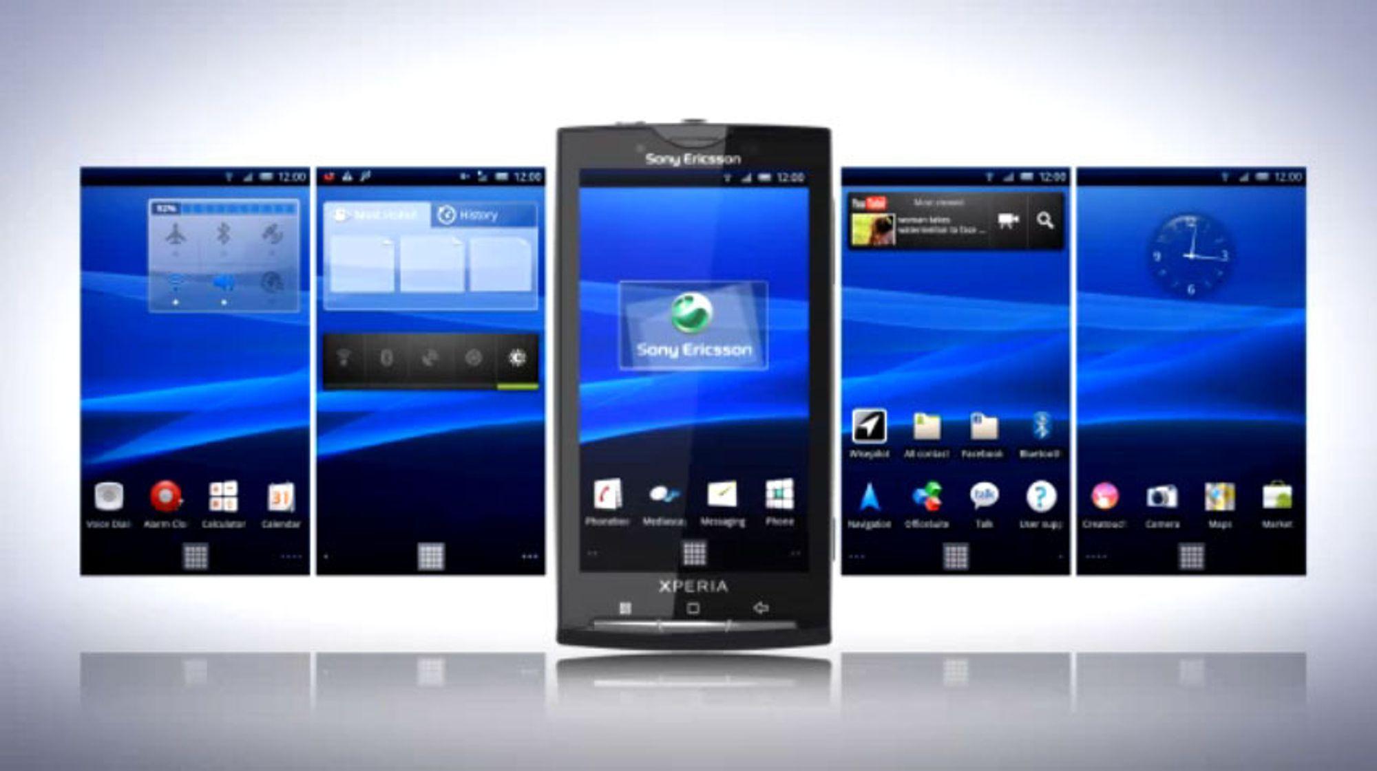 Dette er nytt i Android 2.1 for Xperia X10