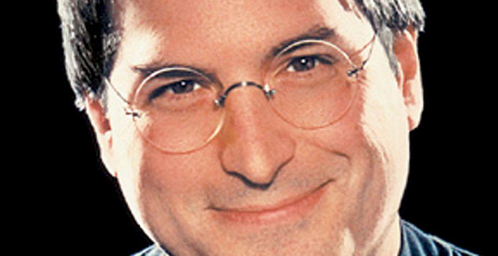Steve Jobs slenger med leppa