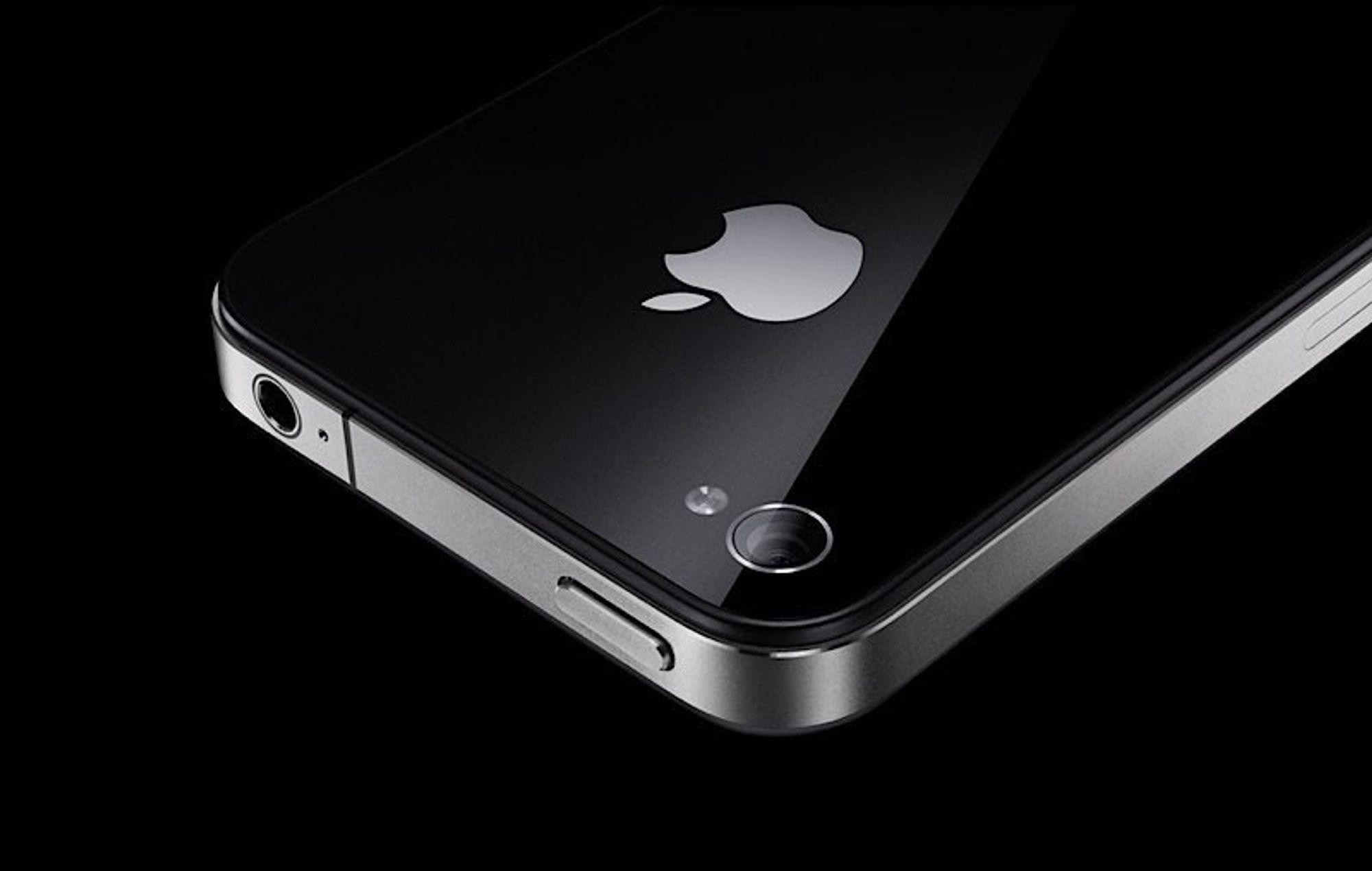 Har din iPhone 4 sprukket?