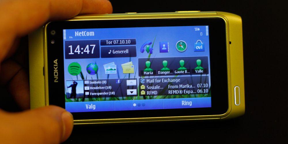 Vi unboxer Nokia N8