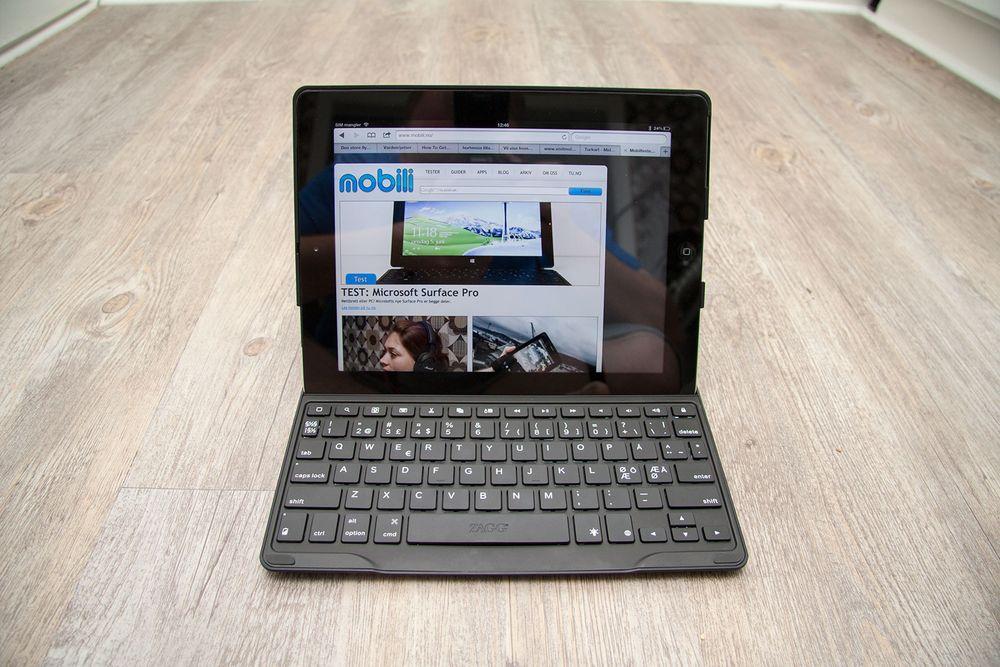 TEST: TEST: Tastatur til iPad