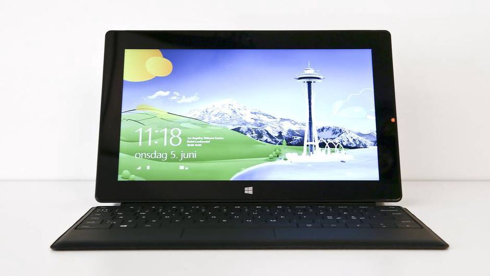 TEST: TEST: Microsoft Surface Pro