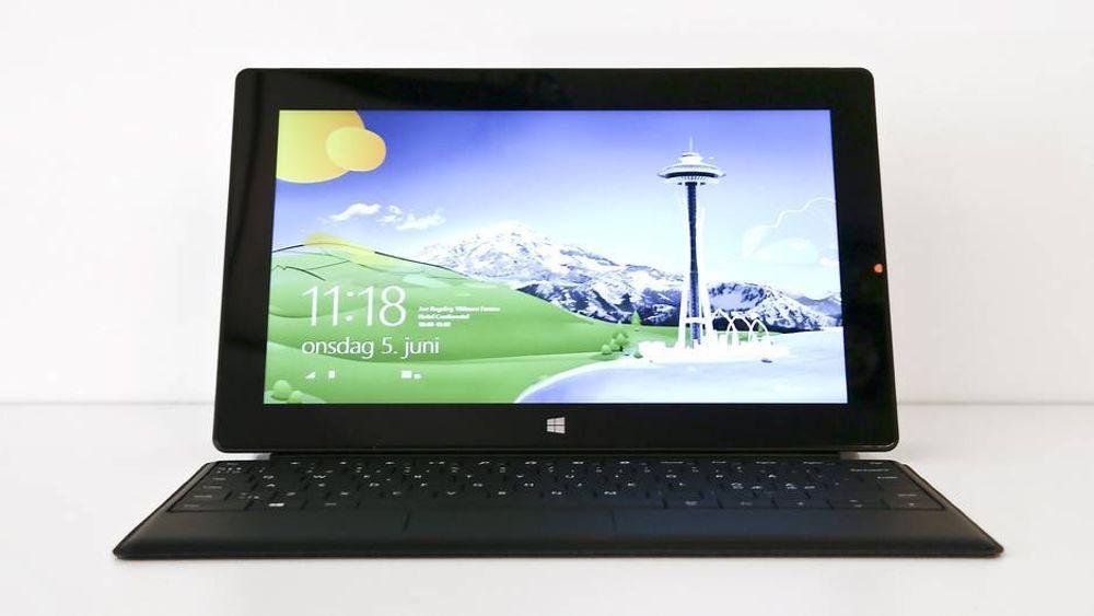 TEST: TEST: Microsoft Surface Pro