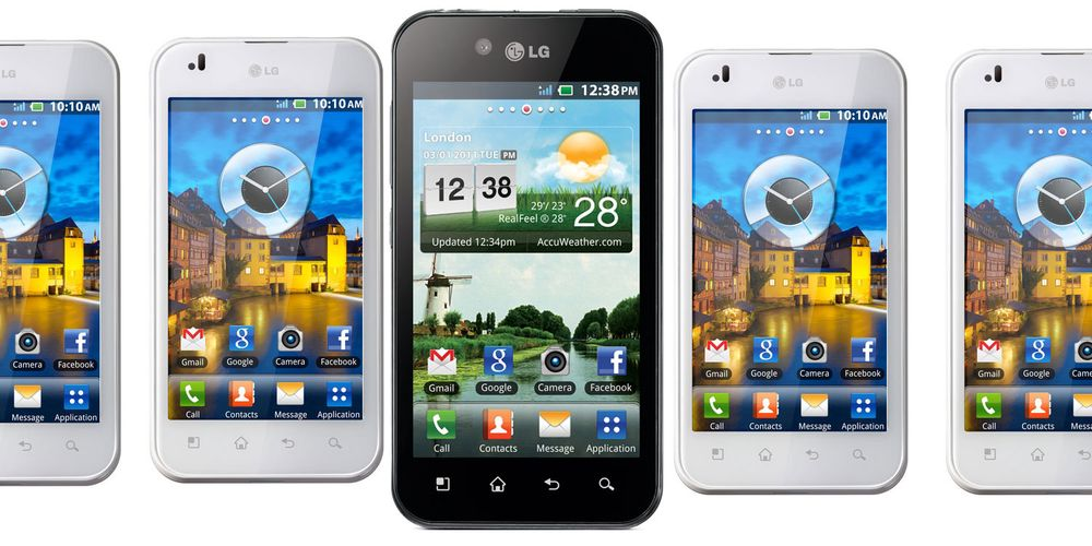 Test av LG Optimus Black
