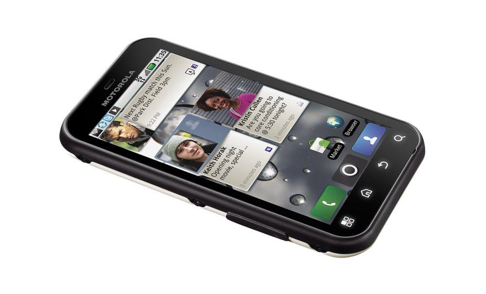 Test av Motorola MB525 Defy