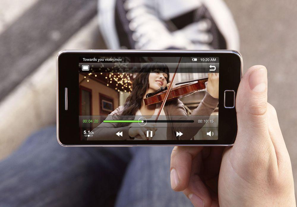 Test av Samsung Galaxy S II