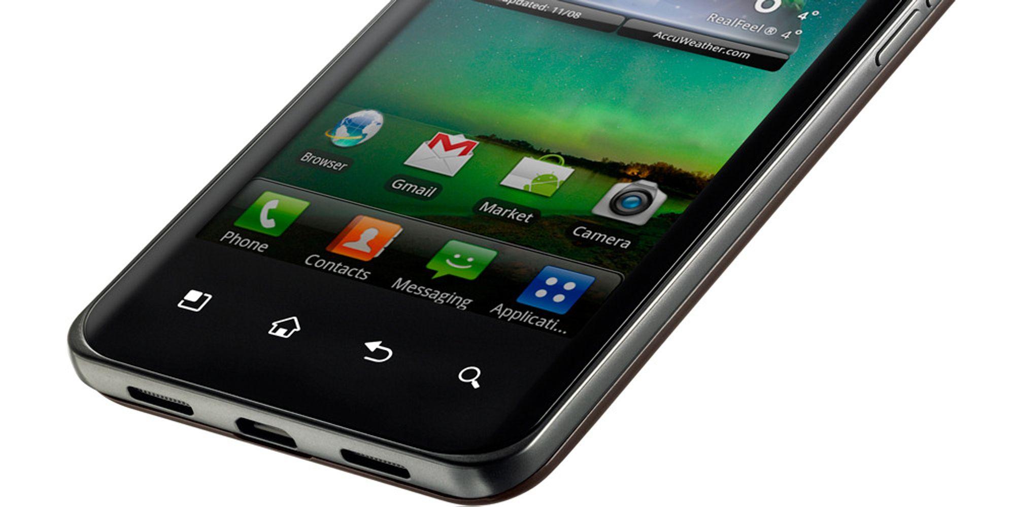 LGs supertelefon bare uker unna Norge
