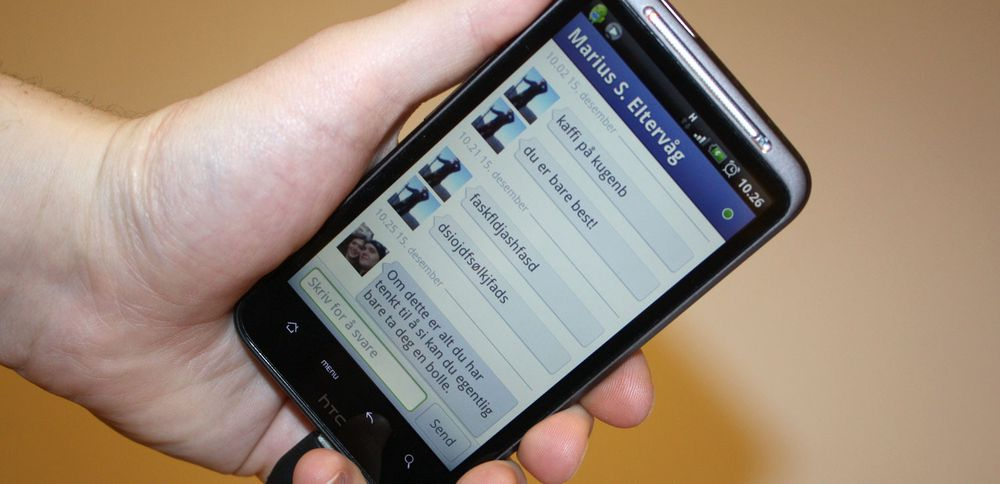 Facebook oppdatert med chat