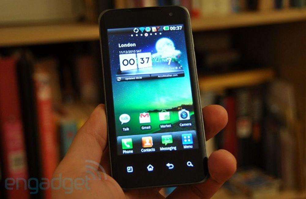LG har lansert Tegra2-telefon i Asia
