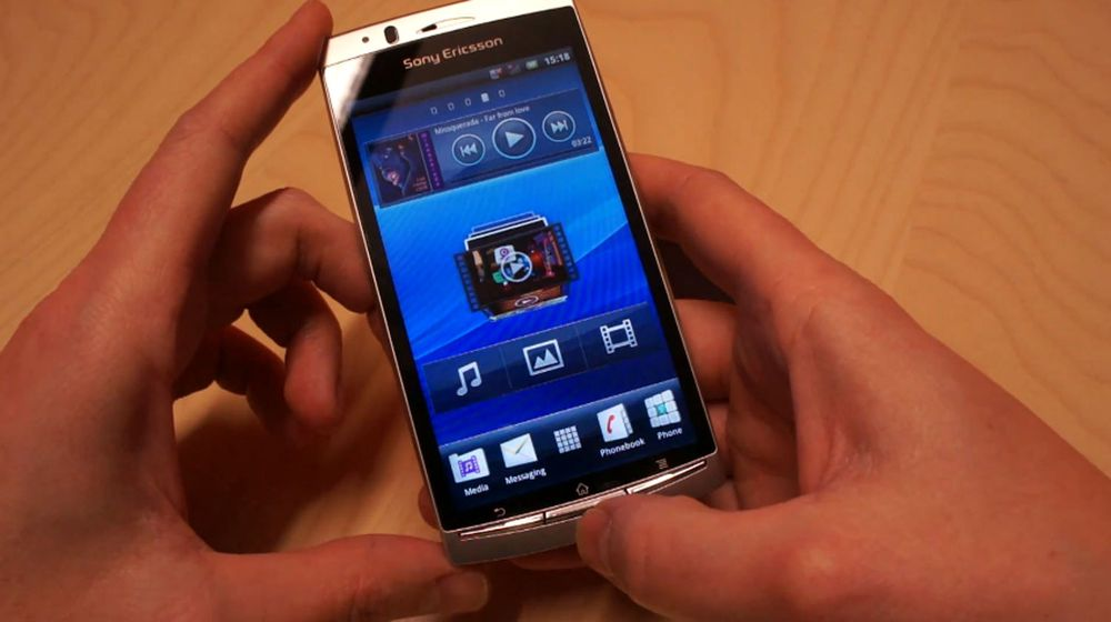 Slik er Sony Ericsson Xperia Arc