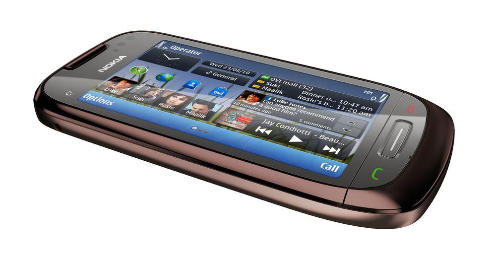 Unboxing av Nokia C7
