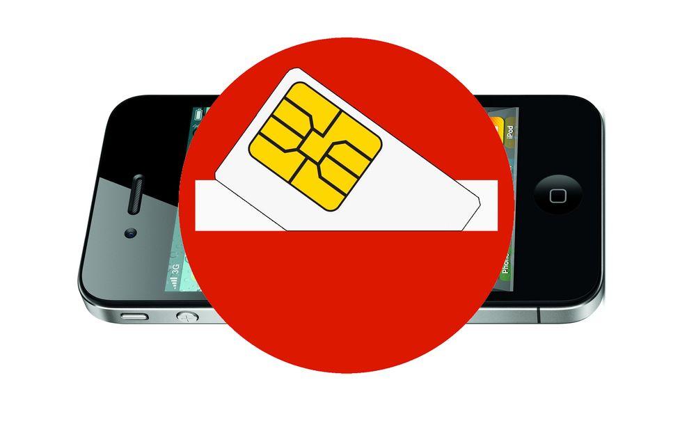 Advarer Apple mot SIM-løs iPhone