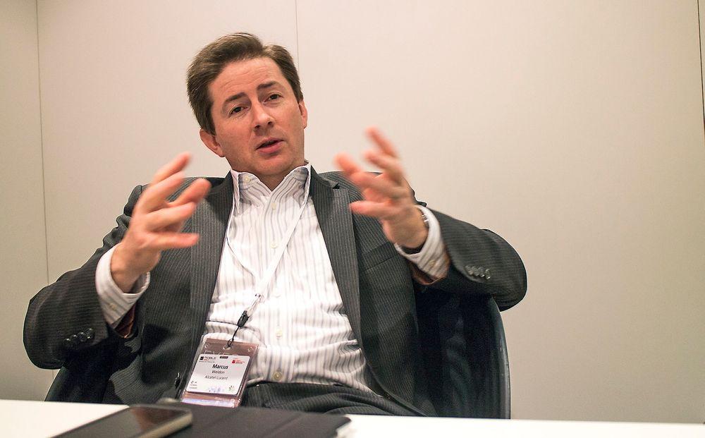 Ser store endringer: Alcatel Lucents teknologidirektør, Marcus Weldon, mener måten vi designer nettverkene på står over for store endringer. De må de skal de håndtere veksten og samtidige gi brukerne mye bedre opplevelser.