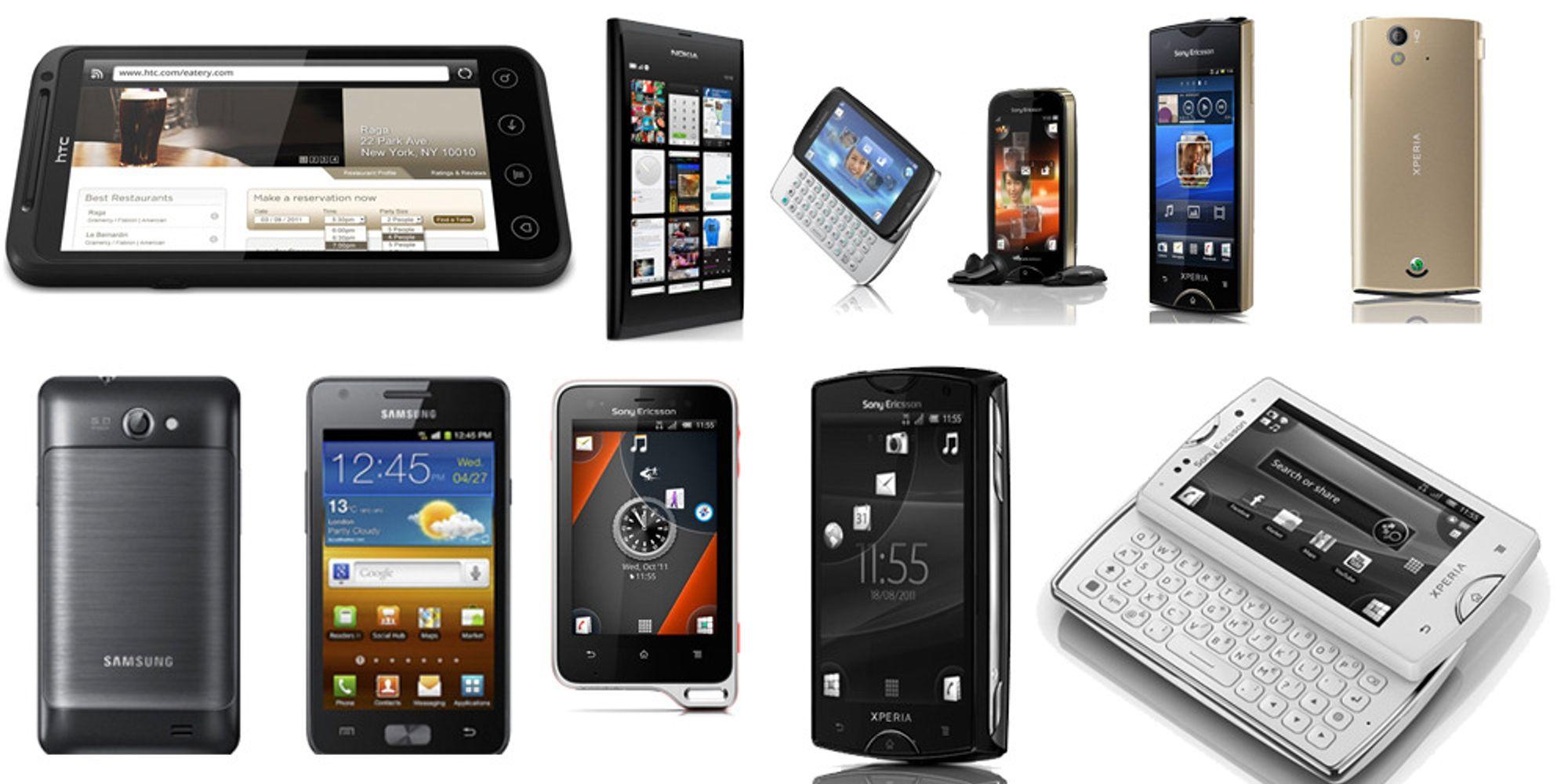 9 telefoner verdt å vente på